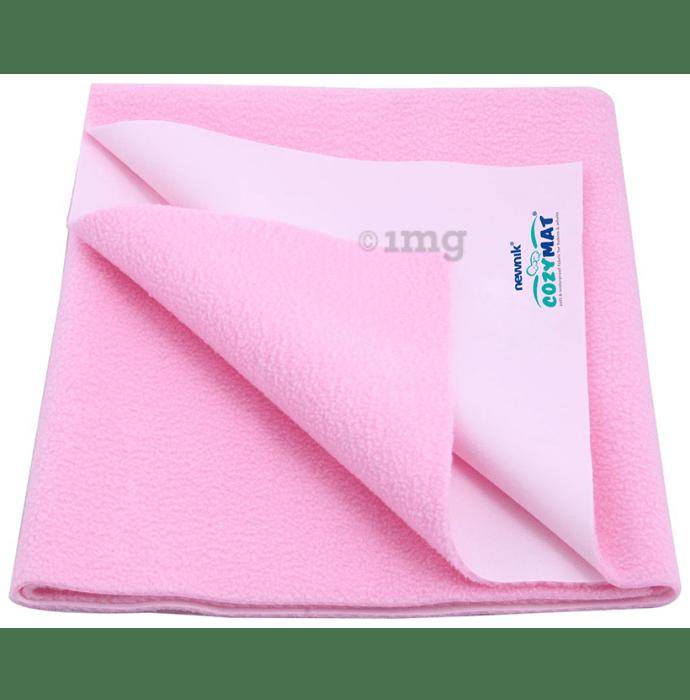 Newnik Cozymat, Dry Sheet (Size: 140cm X 100cm) Large Pink