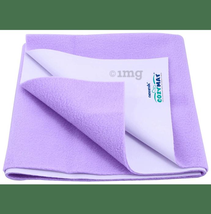 Newnik Cozymat, Dry Sheet (Size: 140cm X 100cm) Large Purple