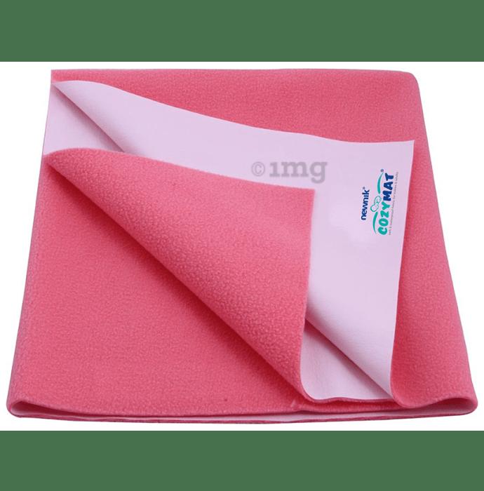 Newnik Cozymat, Dry Sheet (Size: 70cm X 100cm) Medium Salmon Rose