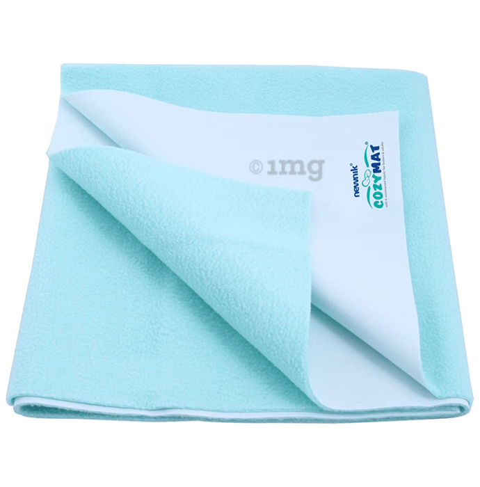 Newnik Cozymat, Dry Sheet (Size: 70cm X 100cm) Medium Sea Green