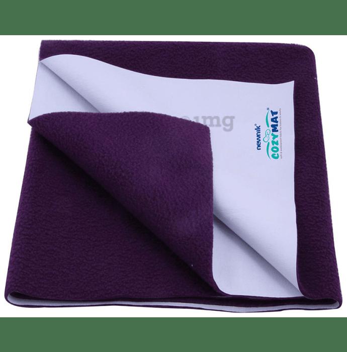 Newnik Cozymat, Dry Sheet (Size: 70cm X 50cm) Small Plum