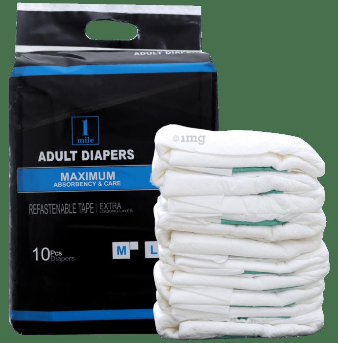 1Mile Adult Diaper XL