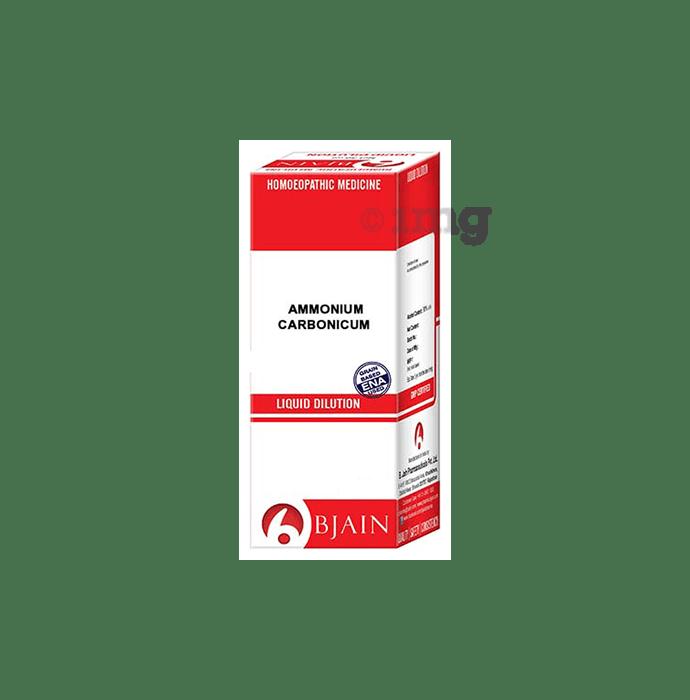 Bjain Ammonium Carbonicum Dilution 30 CH