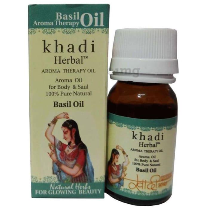 Khadi Herbal Basil Oil