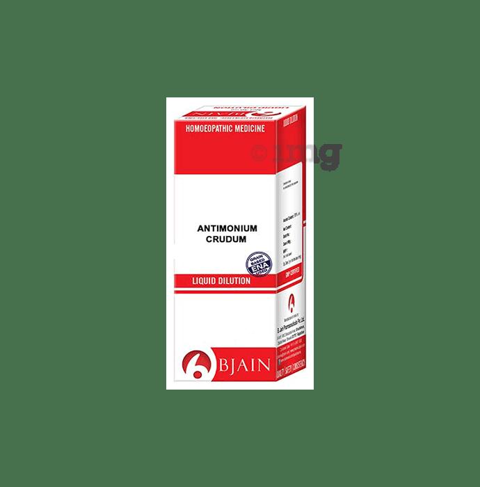 Bjain Antimonium Crudum Dilution 10M CH