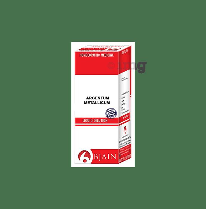 Bjain Argentum Metallicum Dilution 12 CH
