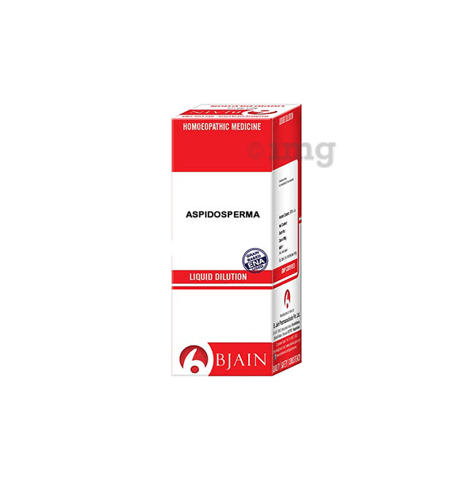Bjain Aspidosperma Dilution 6 CH