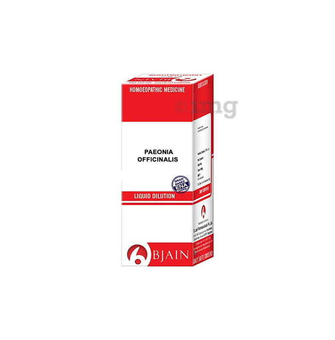 Bjain Paeonia Officinalis Dilution 12 CH