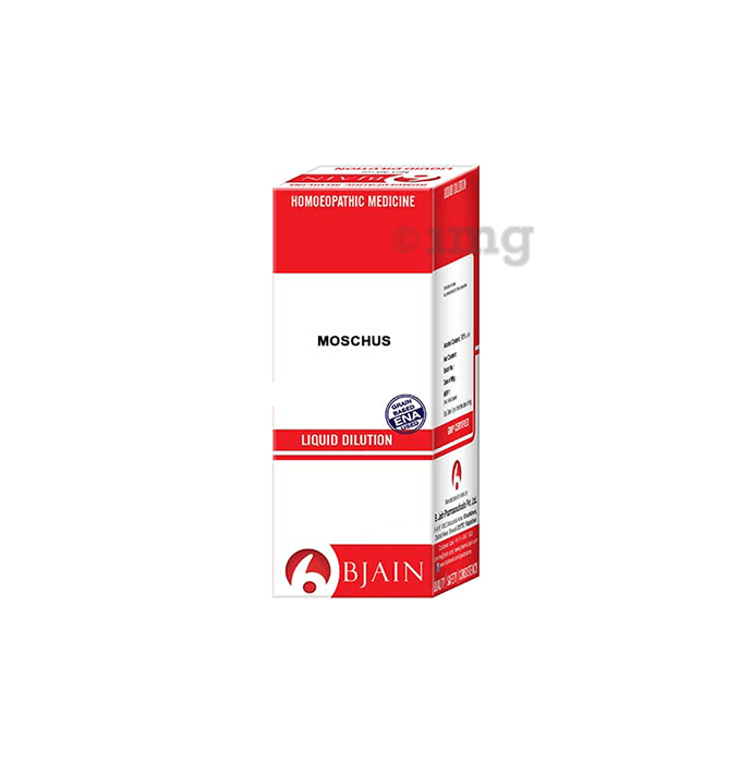 Bjain Moschus Dilution 12 CH