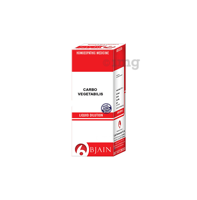 Bjain Carbo Vegetabilis Dilution 1000 CH