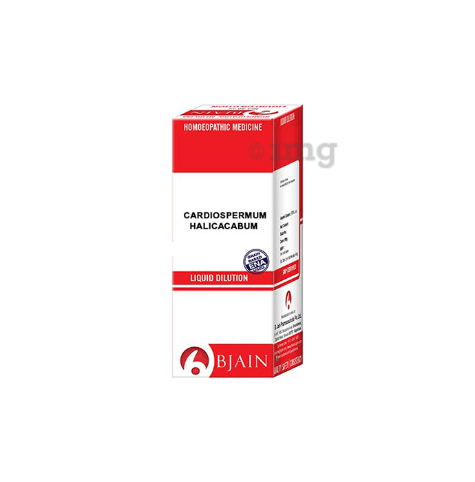 Bjain Cardiospermum Halicacabum Dilution 6X
