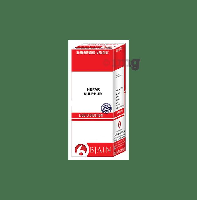 Bjain Hepar Sulphur Dilution 1000 CH