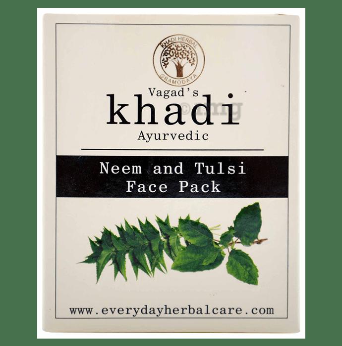 Vagad's Khadi Neem and Tulsi Face Pack Powder