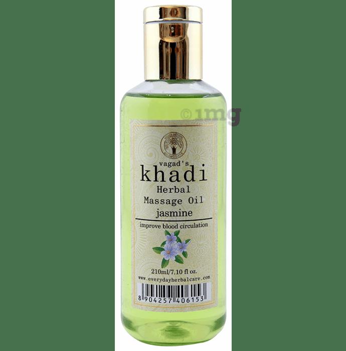 Vagad's Khadi Jasmine Herbal Massage Oil