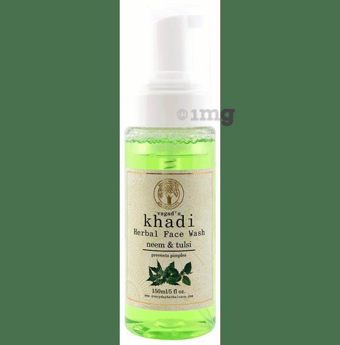Vagad's Khadi Neem & Tulsi Herbal Face Wash