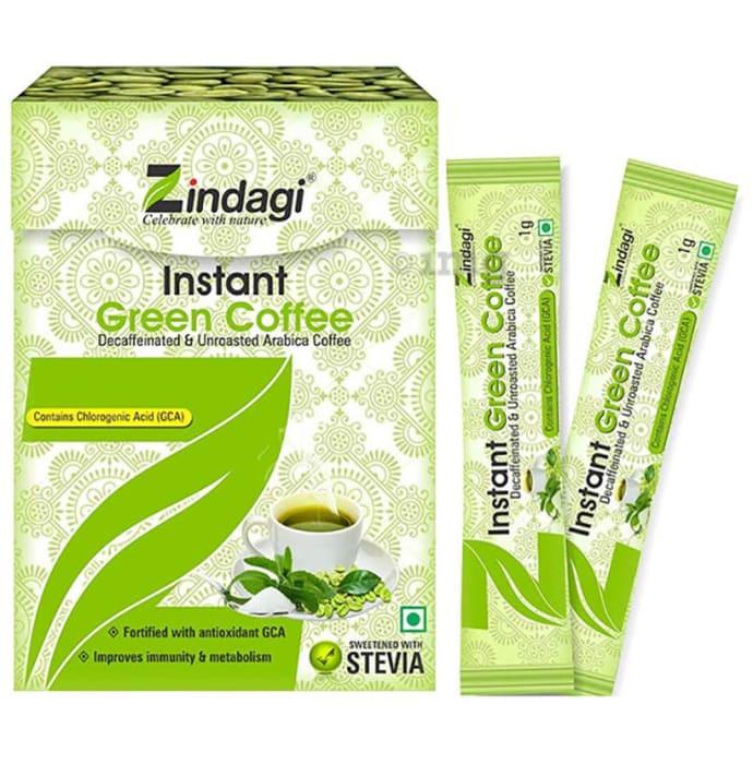 Zindagi Instant Green Coffee Powder (1 gm Each)