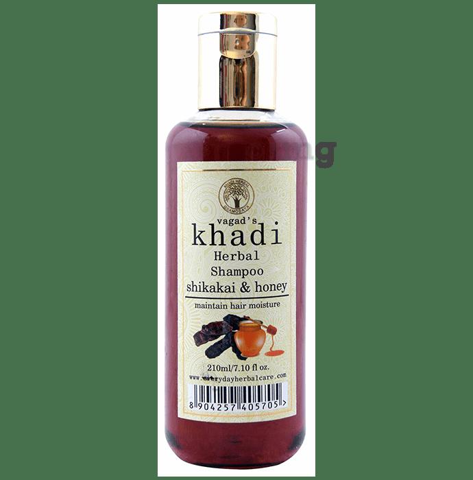 Vagad's Khadi Shikakai & Honey Herbal Shampoo