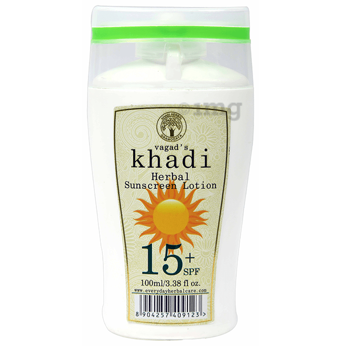 Vagad's Khadi Herbal Sunscreen Lotion SPF 15