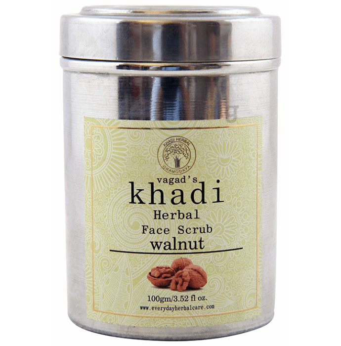 Vagad's Khadi Herbal Walnut Face Scrub