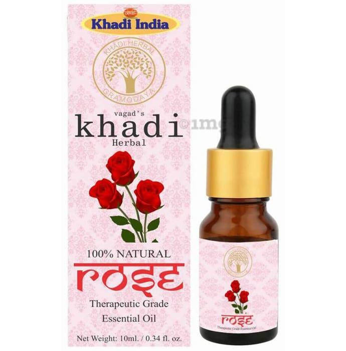 Vagad's Khadi Herbal Rose Essential Oil