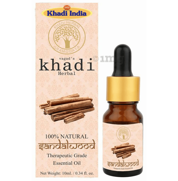 Vagad's Khadi Herbal Sandalwood Essential Oil