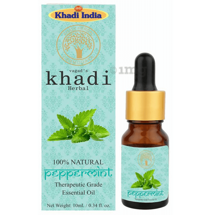 Vagad's Khadi Herbal Peppermint Essential Oil