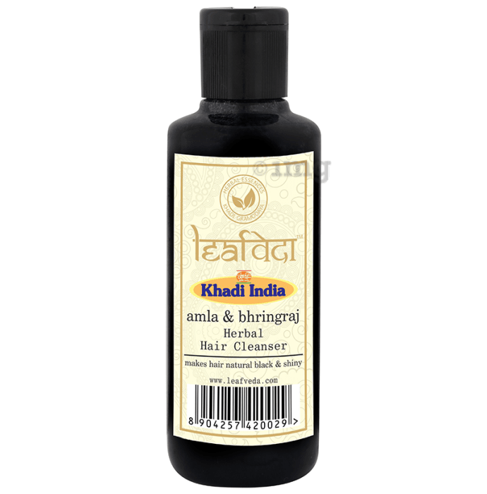 Khadi Leafveda Amla & Bhringraj Herbal Hair Cleanser