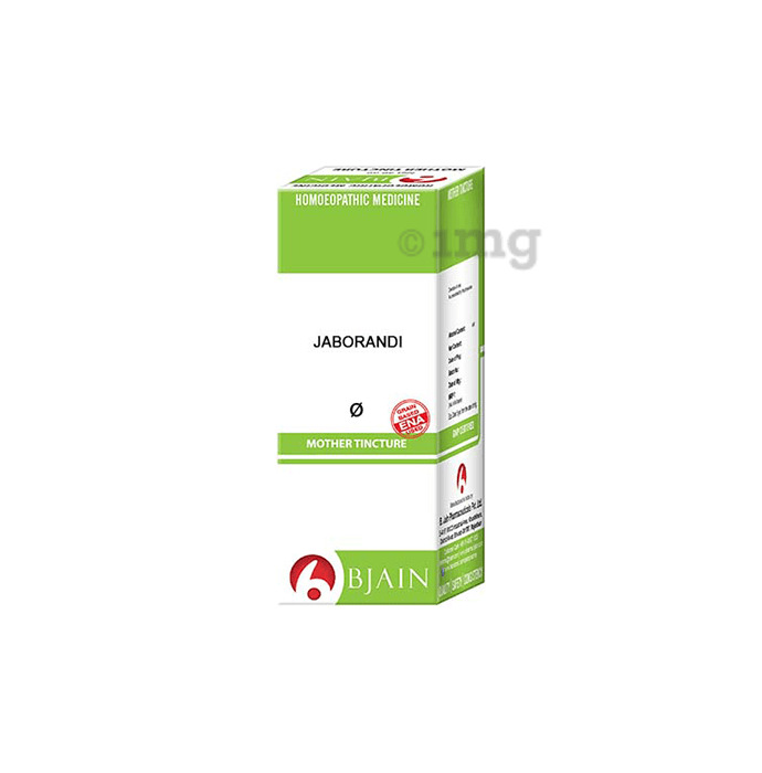 Bjain Jaborandi Mother Tincture Q