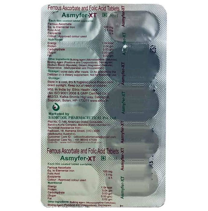 Asmyfer-XT Tablet