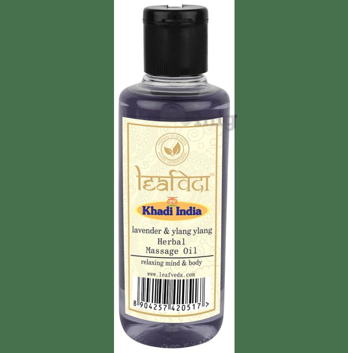 Khadi Leafveda Lavender & Ylang Ylang Herbal Massage Oil