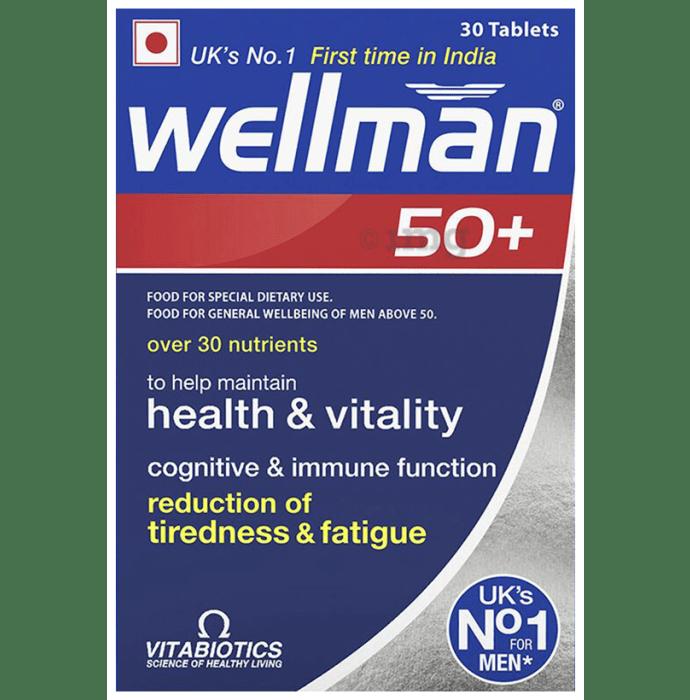 Wellman 50+ Health Supplement for Men Tablet