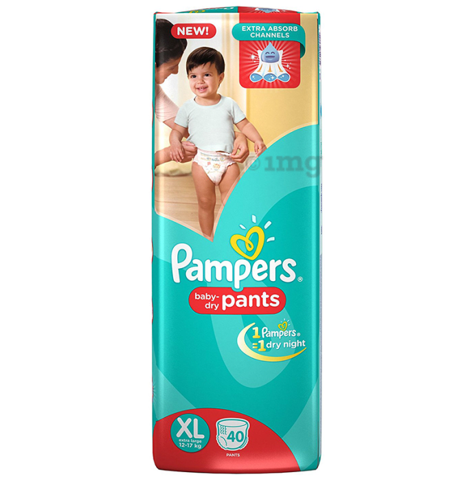 Pampers Baby-Dry Pants XL