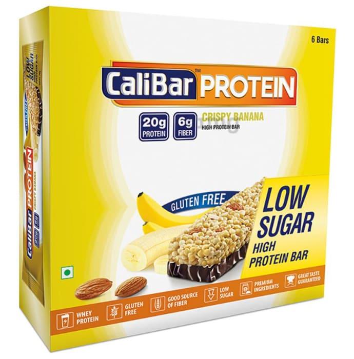 Calibar Protein Bar Crispy Banana