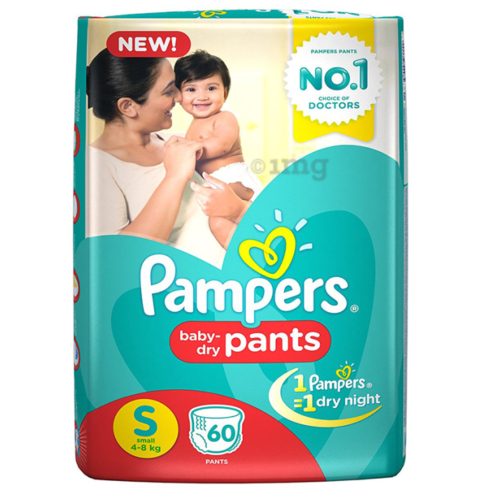 Pampers Baby-Dry Pants Small