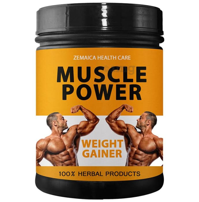 Zemaica Healthcare Muscle Power Weight Gainer