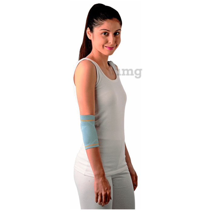 Vissco 5601 Platinum Elbow Support with Silicone Pressure Pad Medium