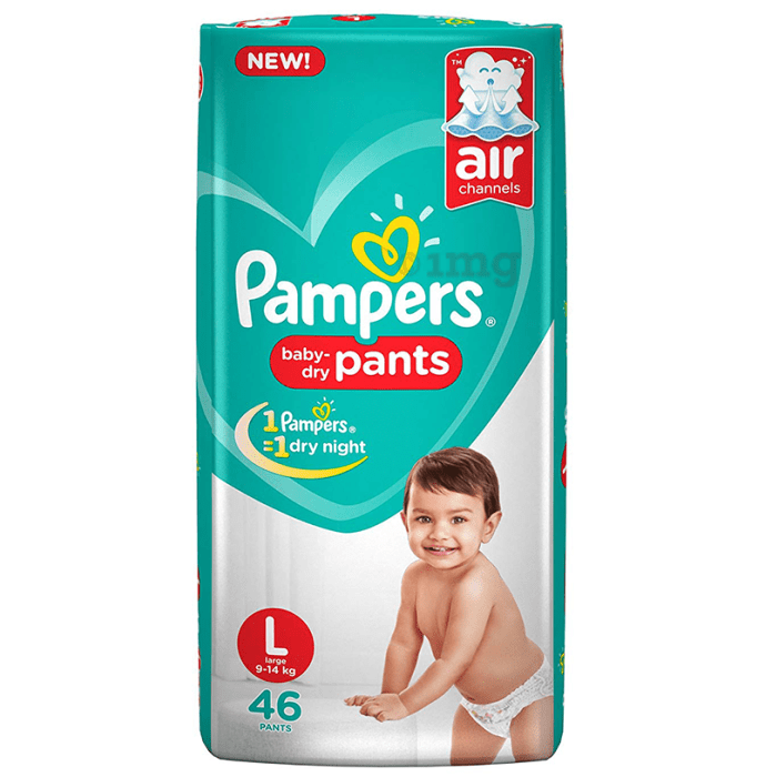 Pampers Baby-Dry Pants Large