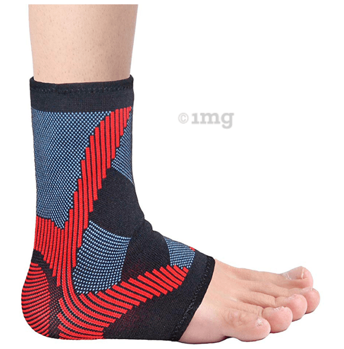 Vissco 2710 Pro 3D Ankle Support with Gel Padding Small