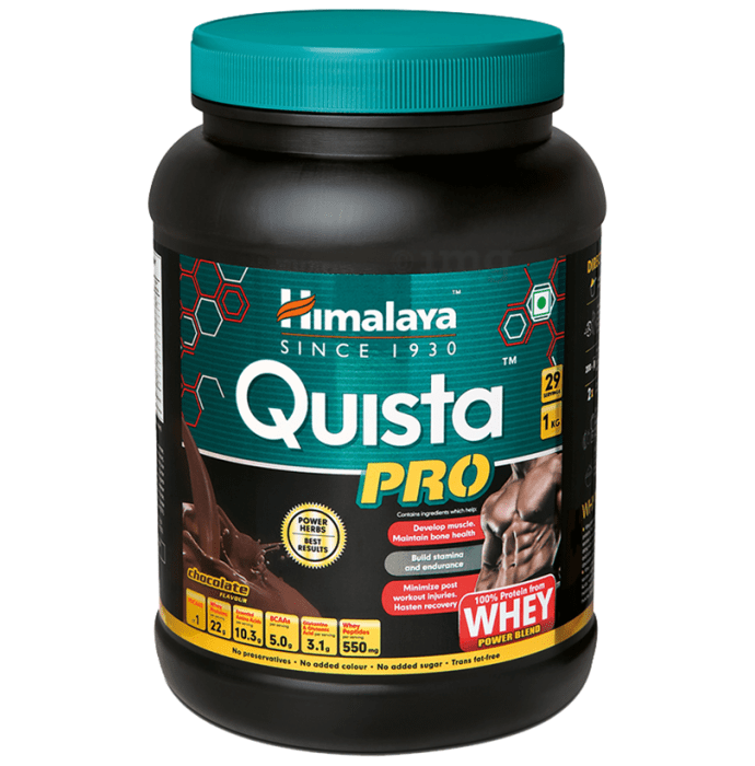 Himalaya Nutrition Quista Pro Whey Protein Power Blend Chocolate