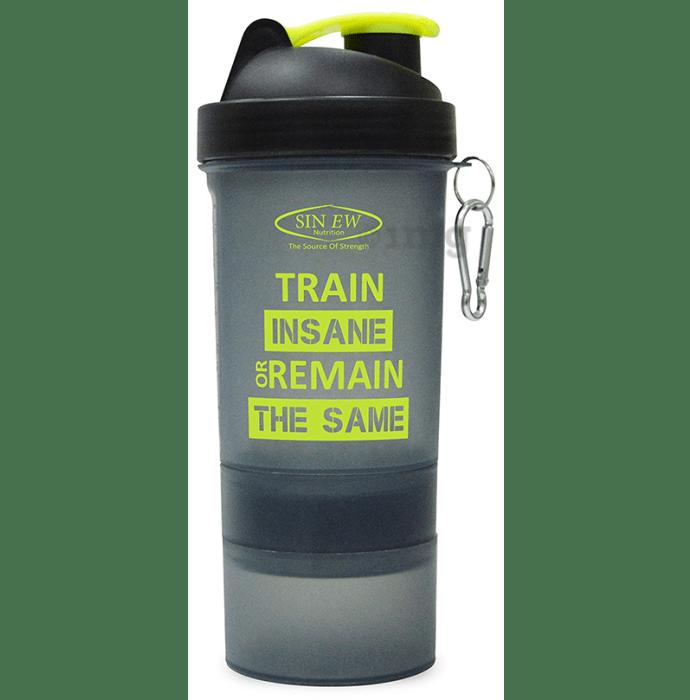 Sinew Nutrition All In One Smart Shaker Bottle Black