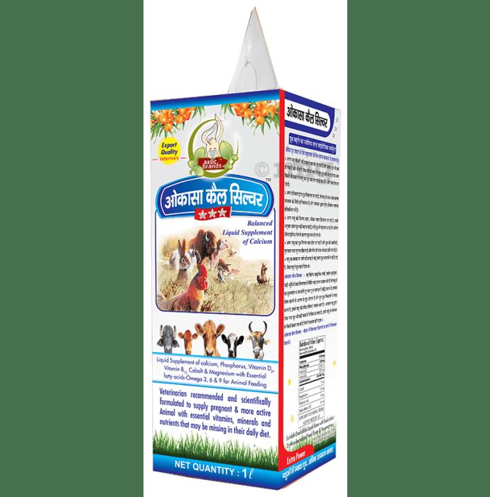 Basic Ayurveda Okassa Cal Silver (For Pets)
