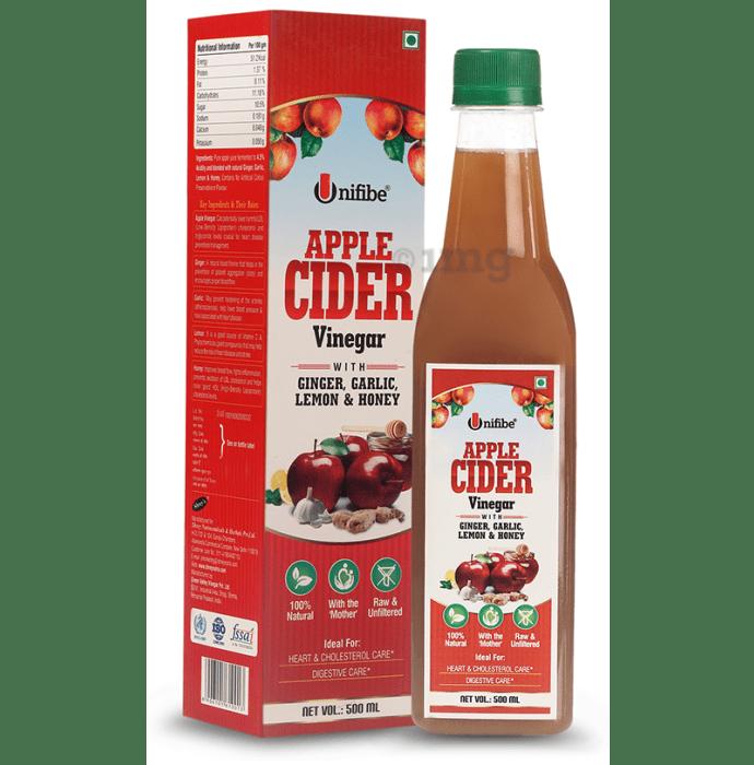 Unifibe Apple Cider Vinegar with Ginger, Garlic, Lemon & Honey
