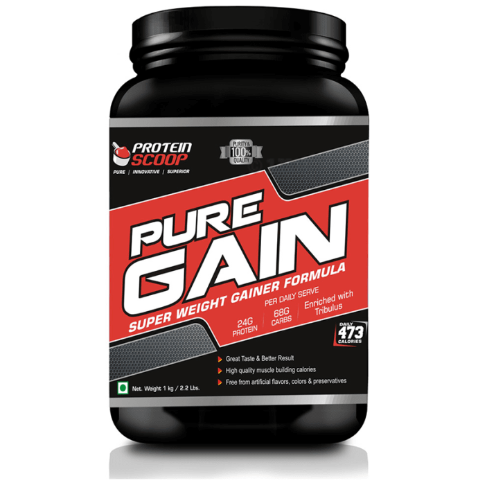 Protein Scoop Pure Gain Strawberry