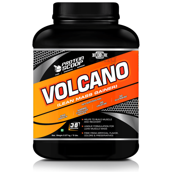 Protein Scoop Volcano Chocolate