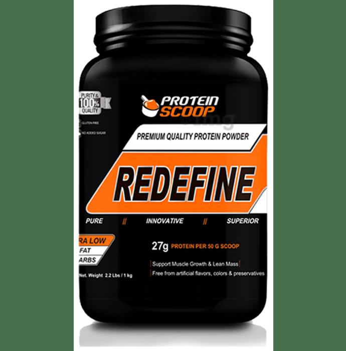Protein Scoop Redefine Vanilla