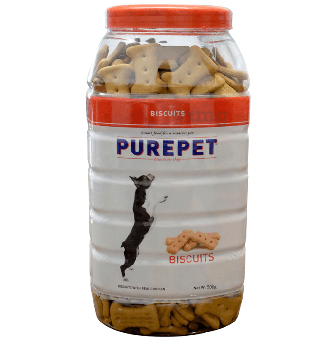 Purepet Real Chicken Biscuit, Dog Treats Mutton Flavour