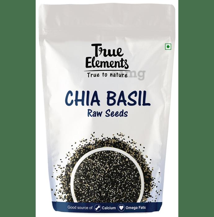 True Elements Chia Basil Raw Seeds