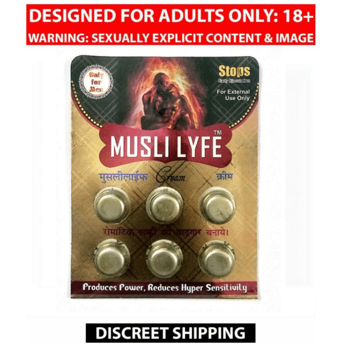 Musli Lyfe 1.5gm Cream