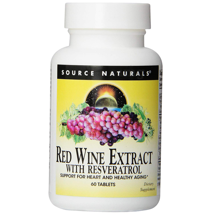 Source Naturals Red Wine Extract with Resveratrol Tablet