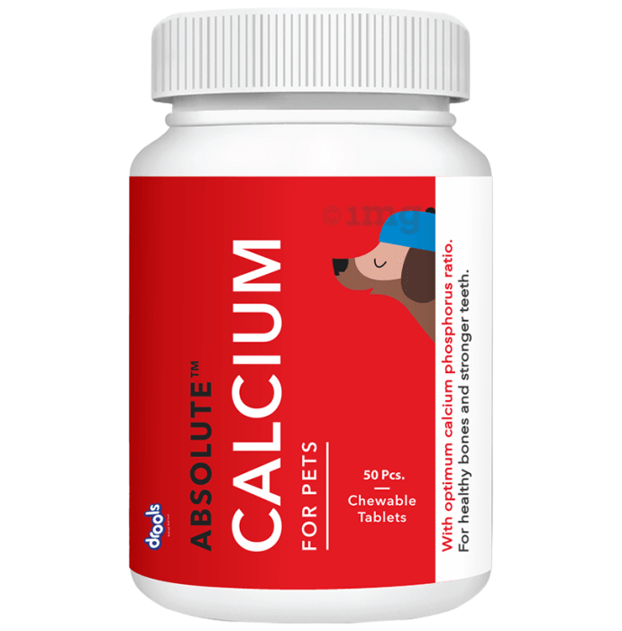Drools Absolute Calcium Tablet- Dog Supplement